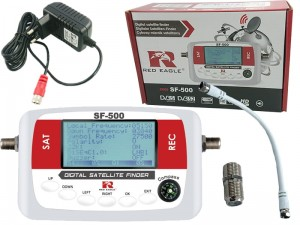 Red Eagle SF-500 digital satellite signal meter at Wasserman.eu