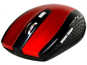 Media-Tech optical wireless mouse red at Wasserman.eu