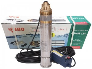 IBO 4 SKM 150 submersible pump + commissioning at Wasserman.eu