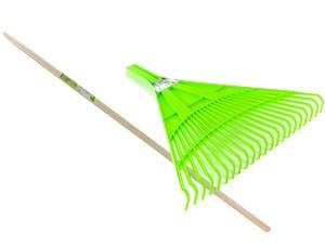 Garden rake 22 teeth + wooden handle at Wasserman.eu
