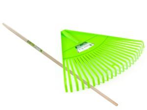 Half-round rake 22 teeth + wooden handle at Wasserman.eu