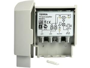Wzmacniacz DVB-T FM+VHFIII-2xUHF masztowy Terra MA081L w sklepie Wasserman.eu