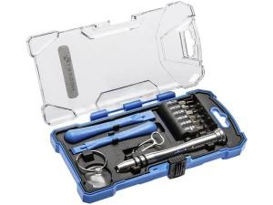 Hogert HT1S271 precision screwdriver set of 17 pieces at Wasserman.eu