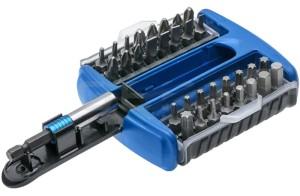 Magnetic screwdriver set 33 elements Hogert at Wasserman.eu