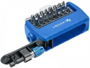Hogert HT1S401 screwdriver set 17 pcs at Wasserman.eu