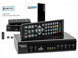 DVB-T2 H.265 Cabletech TV Decoder at Wasserman.eu