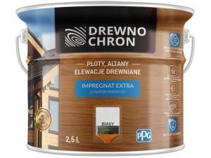 Drewnochron Extra 2.5L White film-forming impregnate at Wasserman.eu