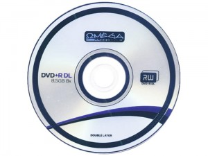 DVD + R DL 8.5 GB x8 2-layer Omega at Wasserman.eu