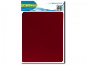 Esperanza 220x180x2mm red mouse pad at Wasserman.eu