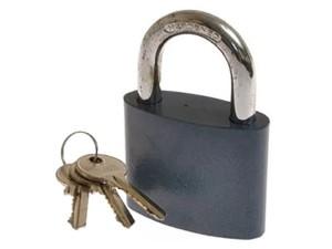 M&D Kze 50 cast iron padlock at Wasserman.eu