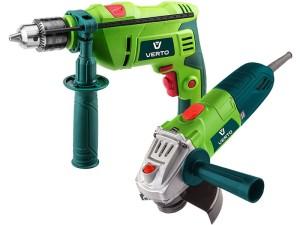 Impact drill plus angle grinder at Wasserman.eu