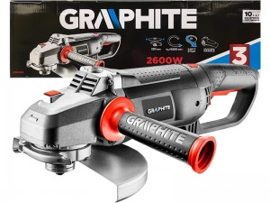 2600W Graphite angle grinder for 230mm disc at Wasserman.eu