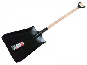 Carbon shovel wooden shaft 134cm at Wasserman.eu
