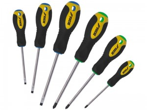 A set of six Dedra screwdrivers with a magnet at Wasserman.eu