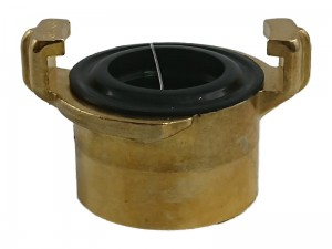 "1 ""GeKa brass coupling with female thread at Wasserman.eu"