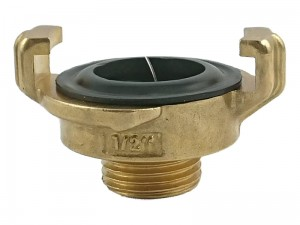 "Brass connector 1/2 ""GeKa external thread at Wasserman.eu"