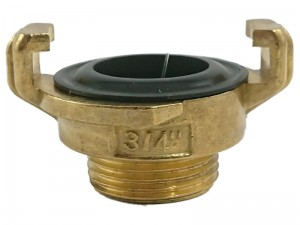 "Brass connection 3/4 ""GeKa external thread at Wasserman.eu"