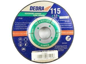 Dedra stone grinding disc 115x22,2x6mm at Wasserman.eu