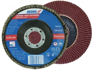 Dedra flap grinding disc 115mm thick 60 at Wasserman.eu