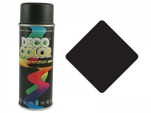 Universal spray paint black mat RAL9005 at Wasserman.eu