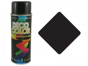 Universal spray paint black gloss RAL9005 at Wasserman.eu