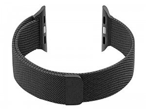 Mesh bracelet for Apple Watch 38mm black at Wasserman.eu
