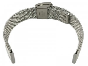 Mesh Band 8 14mm silver bracelet at Wasserman.eu