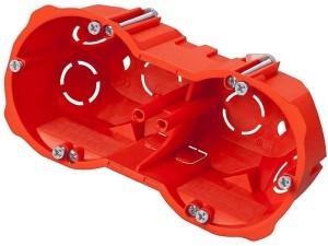 Box p / t regips 3x60mm deep with screws red at Wasserman.eu