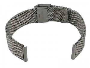 Mesh Band 8 16mm silver bracelet at Wasserman.eu