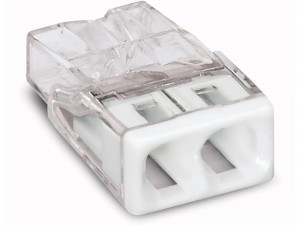 Złączka Compact do puszek inst. 2x WAGO 2273-202 w sklepie Wasserman.eu