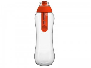 Butelka filtrująca DAFI, bidon. Kolor makowy makowy 0,5L w sklepie Wasserman.eu