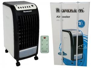 Ravanson air conditioner. Fan with a water pump. Remote at Wasserman.eu