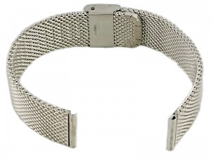Mesh Band 8 18mm silver bracelet at Wasserman.eu