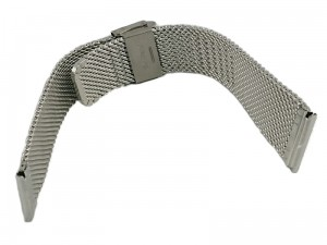 20mm Mesh Band 8 silver bracelet at Wasserman.eu