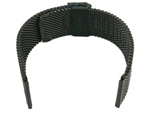 Mesh Band 8 22mm black bracelet at Wasserman.eu