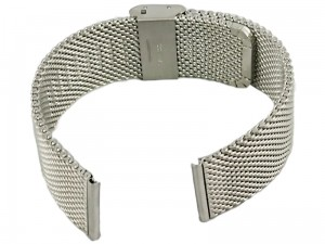 Mesh Band 8 22mm silver bracelet at Wasserman.eu