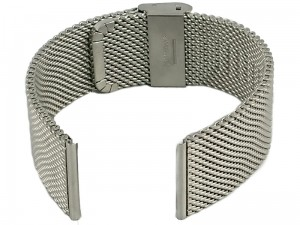 Mesh Band 8 24mm silver bracelet at Wasserman.eu