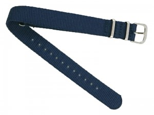 Fabric strap 16mm dark blue at Wasserman.eu