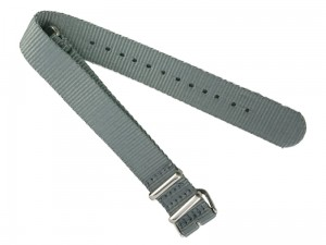 Fabric strap 16mm dark gray at Wasserman.eu