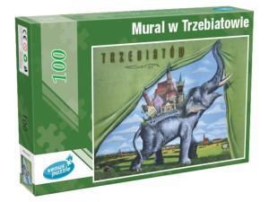 """Occasional puzzle """"Mural in Trzebiatów"""" 100 pcs at Wasserman.eu"""