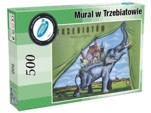 """Occasional puzzle """"Mural in Trzebiatów"""" 500 pcs at Wasserman.eu"""