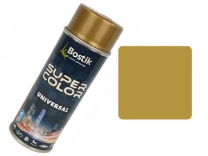 Universal gold spray paint 400ml Universal gold varnish 400ml at Wasserman.eu