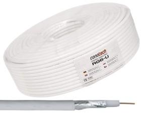 CONOTECH RG6-U (Fe/Cu) kabel antenowy na metry 80185 w sklepie Wasserman.eu