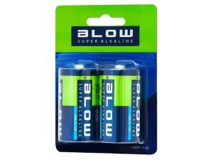 2x Blow Super Alkaine LR20 (82-518) 4BD2-183F4 battery at Wasserman.eu
