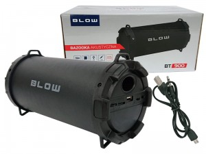 Bazooka Blow BT900 FM Bluetooth speaker, USB, SD, AUX at Wasserman.eu