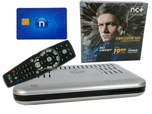 Telewizja na kartę NC+ z dekoderem, Start+ 1msc w sklepie Wasserman.eu