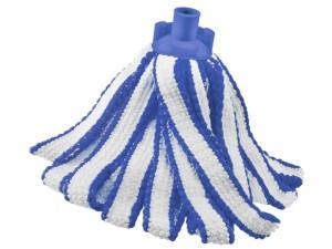 Blue Duo Color microfiber mop refill at Wasserman.eu