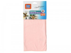 Clean & Shine microfiber cloth pink at Wasserman.eu