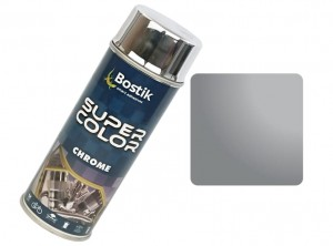 Super Color Chrome Silver Spray Paint 400ml Silver Chrome Varnish 400ml at Wasserman.eu