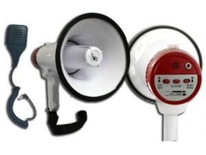 Megafon z mikrofonem 20W, 1000m Voice Kraft VK1 w sklepie Wasserman.eu